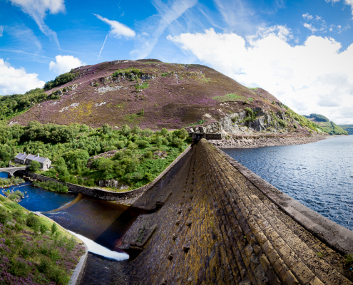 The Elan Valley | Caban Coch Dam | Photography by Lyndon Darkes