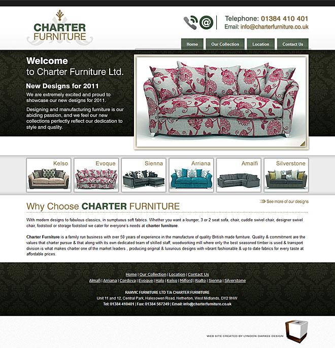 Charter Furniture U2013 Website