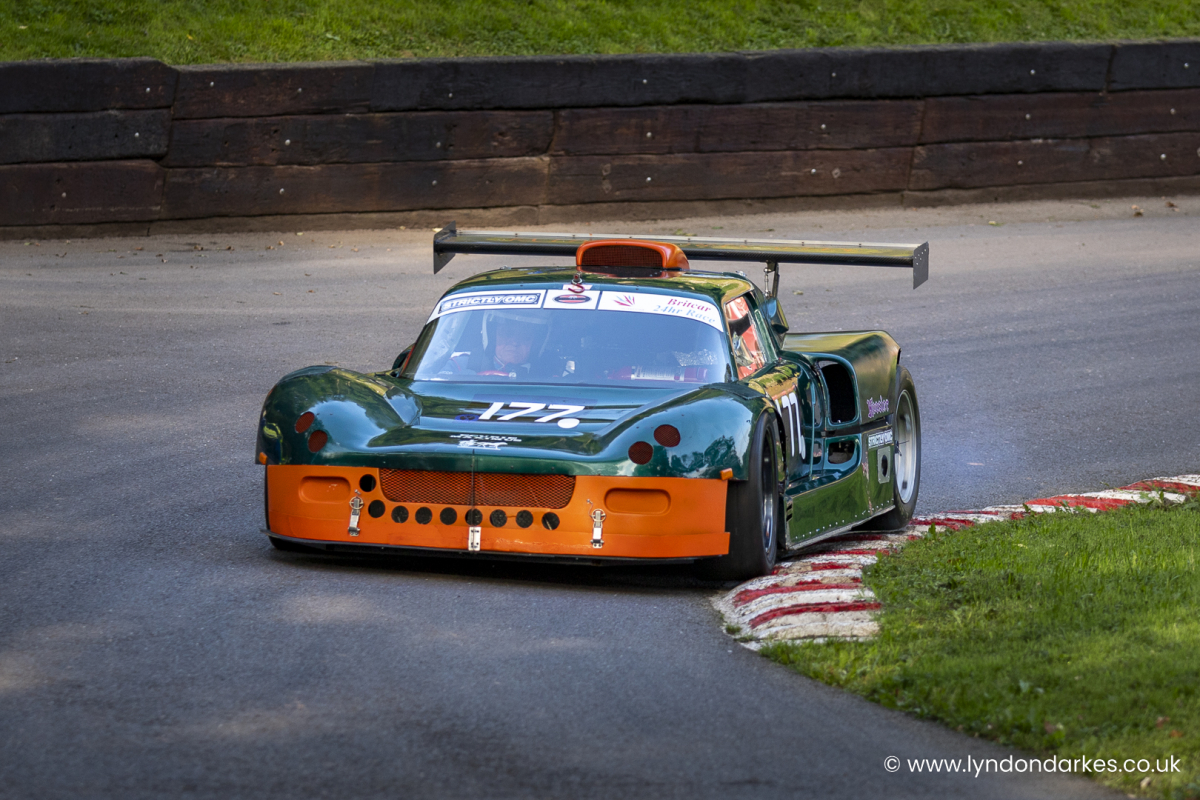 Peter Hubbard in a Maximus GT at Shelsley Walsh September 2021