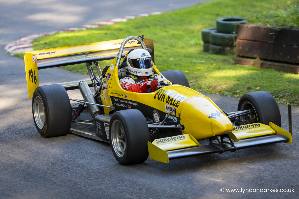 Rob Anscombe in an Empire Evo at Shelsley Walsh September 2021