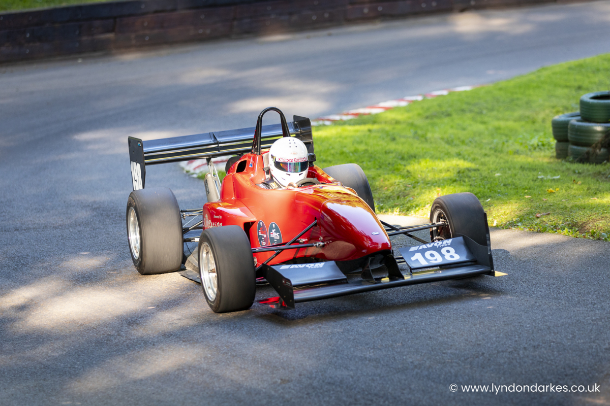 Neal Coles in a CMS 28 at Shelsley Walsh September 2021