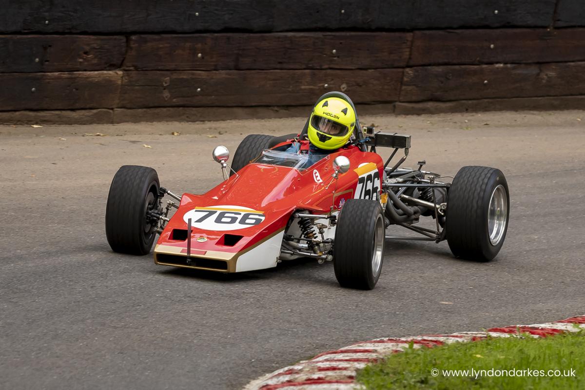 Iain Stallard in a Lotus 61 at Shelsley Walsh September 2021