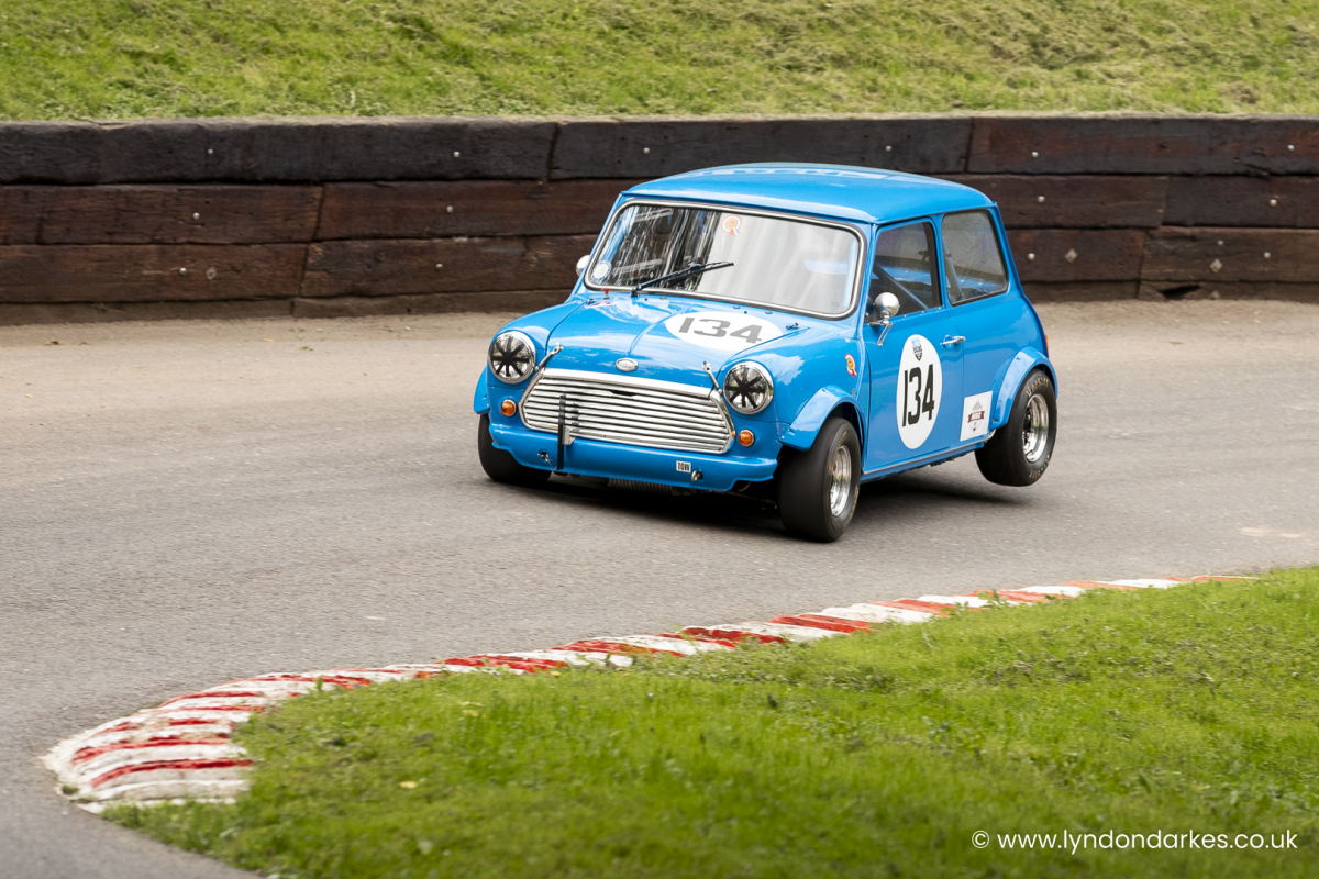 Mike Gallery in a Morris Cooper S at Shelsley Walsh September 2021