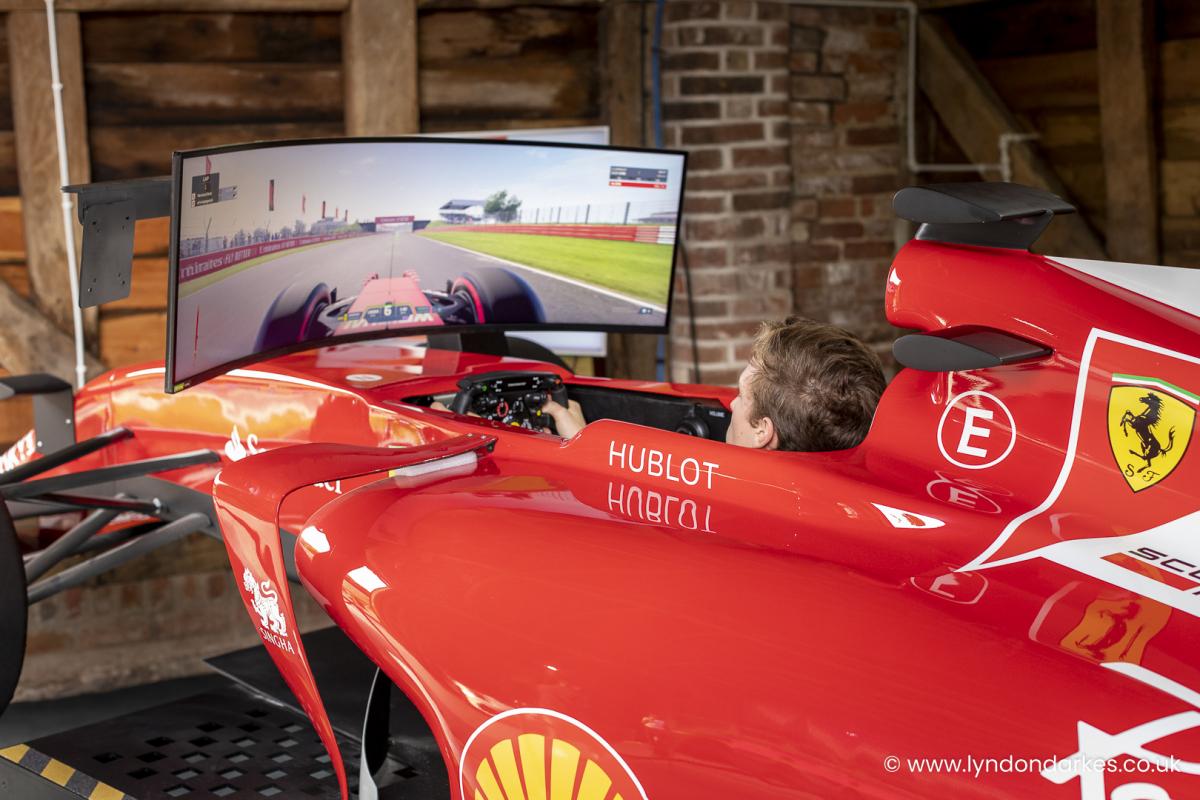 Driving Legends Simulator at Shelsley Walsh September 2021